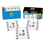 Hot Dots Math Skills Flash Cards - Multiplication
