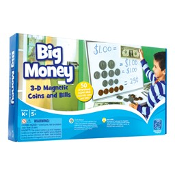 Big Money Magnetic Coins & Bills