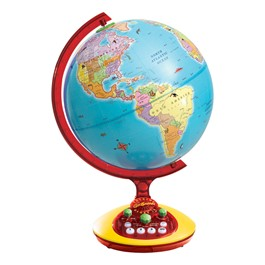 GeoSafari Talking Globe Interactive Game Sr. - Ages 6 - 8