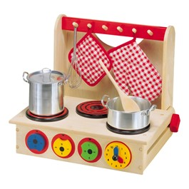 Kids\' Wooden Cook Top - Accessories not included