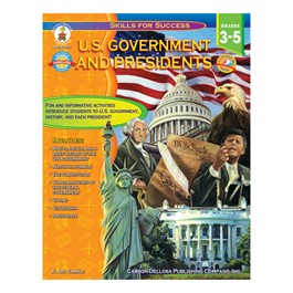 Carson Dellosa U.S. Government and Presidents (Grades 3-5)
