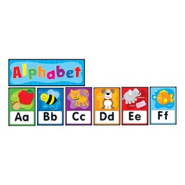 Carson Dellosa Alphabet Quick Stick Bulletin Board Set