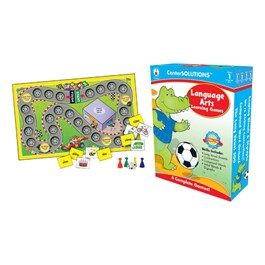 Carson Dellosa Center Solutions Language Arts Learning Games - Grade One