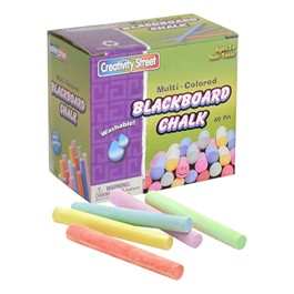Chenille Kraft Colorful Blackboard Chalk (60 Pieces)