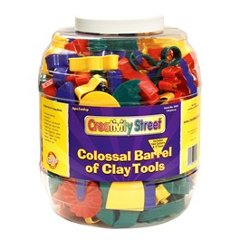 Chenille Kraft Colossal Barrel of Clay Toys