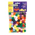 Chenille Kraft Pom Pons - Pack of 100