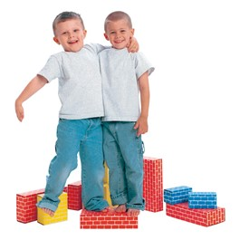 ImagiBricks Giant Building Blocks - Assorted - 40 Pieces