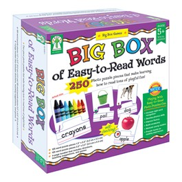 Carson Dellosa Big Box of Easy-to-Read Words