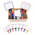 KleenSlate Double-Sided Dry Erase Paddles w/ Graph - Set of 32