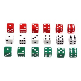 Dot Dice - Three Sets of Six