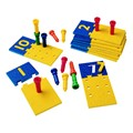 Number Puzzle Pegboard Set