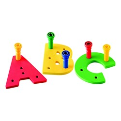 A-Z Pegboard Set - Uppercase