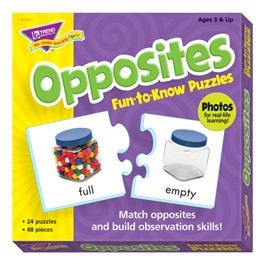 Fun-to-Know Puzzles - Opposites