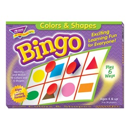 Bingo - Colors & Shapes
