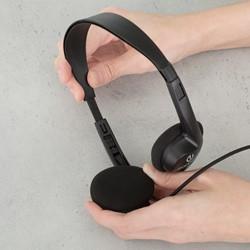 Stereo School Headphones - Adjustability