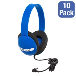 Pack Of 10 Kids Headphones At School Outfitters