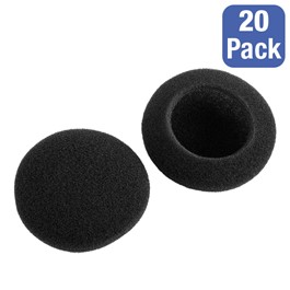 Pack of 20 Replacement Ear Cushions - Stereo School Headphones w/ Boom Microphone