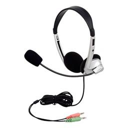 Pack of 10 Stereo School Headphones w/ Boom Microphone