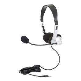 Mobile-Ready Stereo School Headphones w/ Boom Microphone