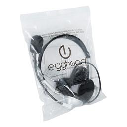 Stereo School Headphones w/ Boom Microphone - Storage Bag