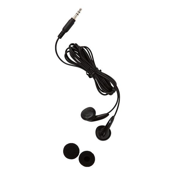 Earbud Headphones w/ Foam Ear Cushions