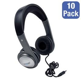 Pack of 10 Cushioned Headband Stereo Headphones