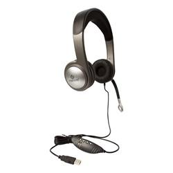 USB Multimedia Headset w/ Volume Control