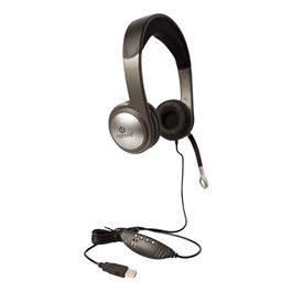 USB Multimedia Headset w/ Volume Control