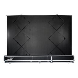 QuickStand 5-Second Series Portable Pull-Up Projection Screen - Back