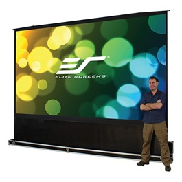 QuickStand 5-Second Series Portable Pull-Up Projection Screen