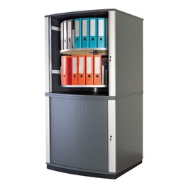 LockFile Carousel Shelving Cabinet - Four Tier