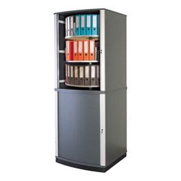 LockFile Carousel Shelving Cabinet - Six Tier