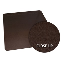 Bronze Laminated Design Series Chair Mat - close-up