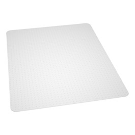 Beveled Edge Chair Mat for High Pile Carpet