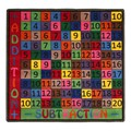 Addition & Subtraction Rug
