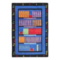 Bible Bookcase Rug