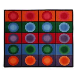 """Dot Spots Rug (5\' 10\"""" W x 8\' 4\"""" L)"""