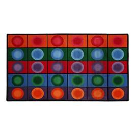 """Dot Spots Rug (7\' 6\"""" W x 12\' L)"""
