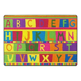ABC Tapestry Washable Rug