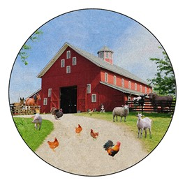 Barn Animals - Round (12\' Diameter)