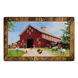 See My Barn Animals Rug