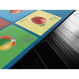 See My Alphabet Rug - Multi-Colored