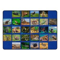Alphabet Animals Rug
