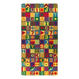 Floors That Teach Rug - Rectangle (6\' W x 12\' L)