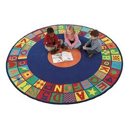 Floors That Teach Rug - Round (8\' Diameter)