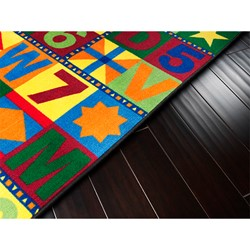Floors That Teach Rug - Rectangle (12' W x 15' L)