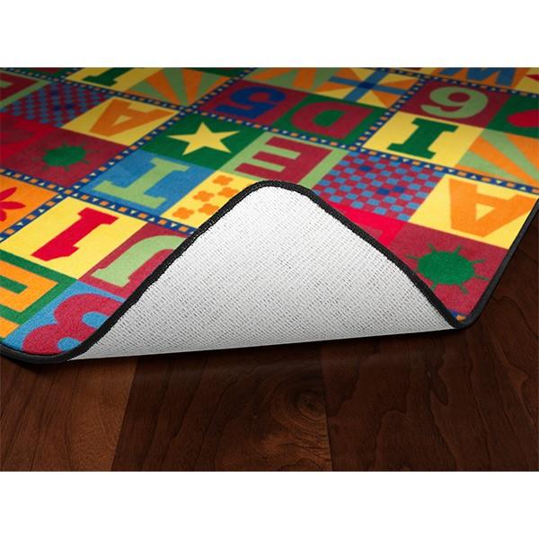 Floors That Teach Rug - Rectangle (6' W x 12' L)