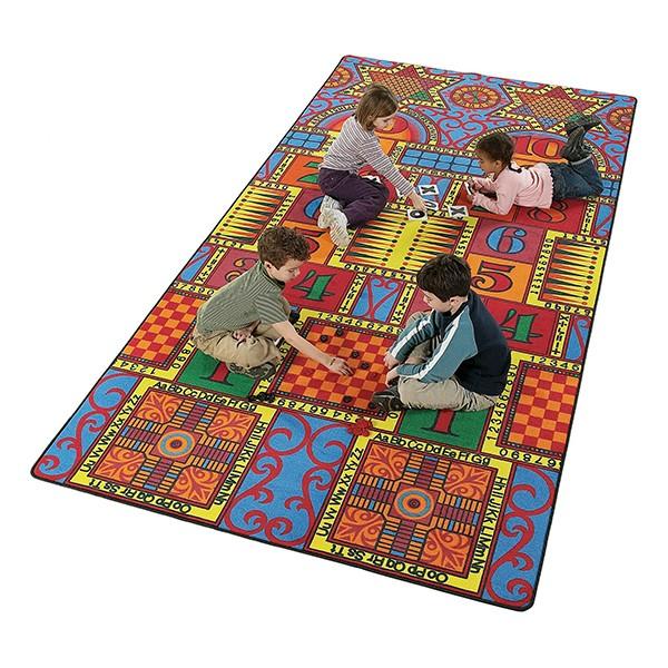 Games That Teach Rug - Rectangle (12' W x 18' L)