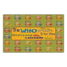 Be Whooo You Are Rug