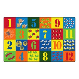"""Counting Critters Rug (7\' 6\"""" W x 12\' L)"""
